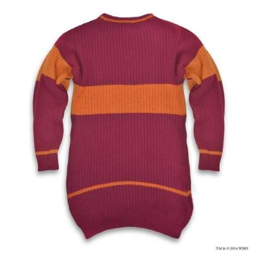 Suéter Quadribol Grifinória Harry Potter Oficial