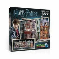 1 diagon alley 247x247 - Maquete 3D Beco Diagonal Harry Potter