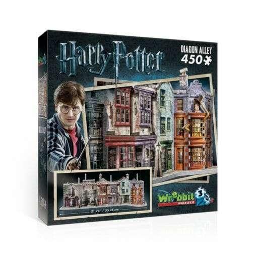1 diagon alley 510x510 - Maquete 3D Beco Diagonal Harry Potter