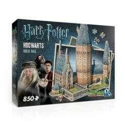 Maquete 3D Torre Salão Comunal de Hogwarts