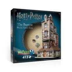 Maquete 3D Casa da Família Weasley - A Toca