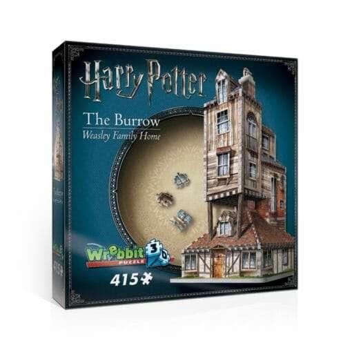 1 the burrow weasley family home 2 510x510 - Maquete 3D Casa da Família Weasley - A Toca