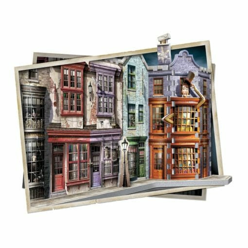 2 diagon alley 510x510 - Maquete 3D Beco Diagonal Harry Potter