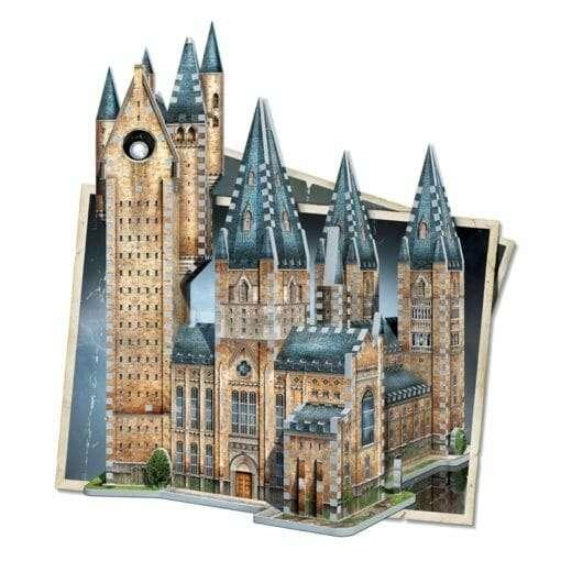 Maquete 3D Torre de Astronomia de Hogwarts