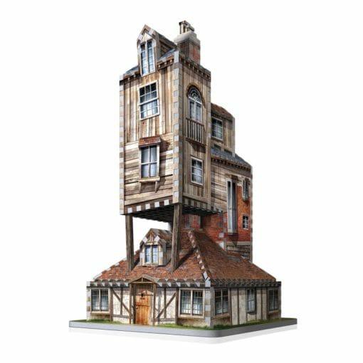 2 the burrow weasley family home 510x510 - Maquete 3D Casa da Família Weasley - A Toca