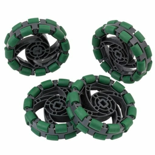 276 3526 Pack com 4 Rodas Omni Direcional 825 cm linha Robotica Vex3 510x510 - Kit 4 Rodas Robótica Omnidirecional 8,25 cm