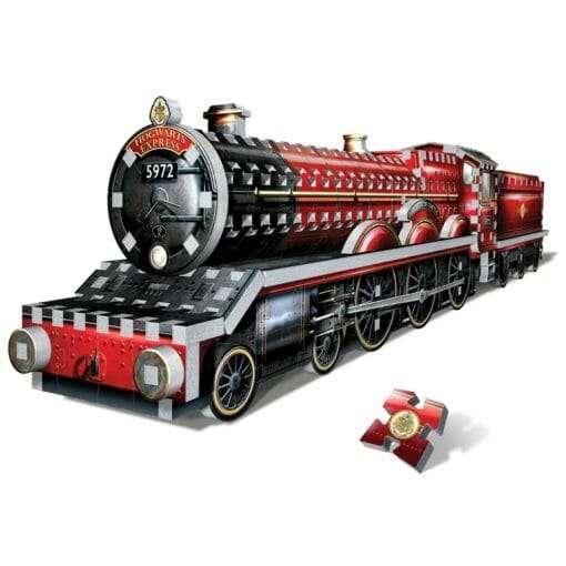 Maquete 3D Trem Expresso de Hogwarts