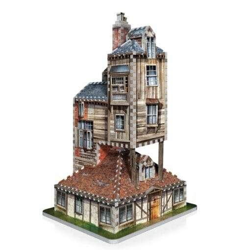 3 the burrow weasley family home 510x510 - Maquete 3D Casa da Família Weasley - A Toca