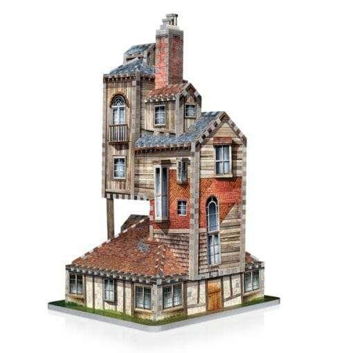 4 the burrow weasley family home 510x510 - Maquete 3D Casa da Família Weasley - A Toca