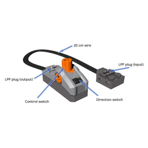 8869 CONTROL SWITCH 510x510 - Chave de Controle Lego Power Functions 8869