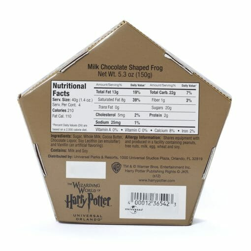 91EBHq59ByL. SL1500  510x510 - Sapo de Chocolate Harry Potter Oficial Pack c/ 4 und.