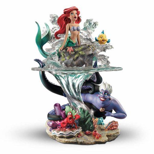 A Pequena Sereia e Parte De Seu Mundo Ariel escultura 510x510 - Escultura A Pequena Sereia e o mundo de Ariel Disney