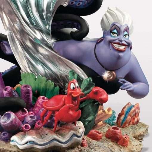 A Pequena Sereia e Parte De Seu Mundo Ariel escultura3 510x510 - Escultura A Pequena Sereia e o mundo de Ariel Disney