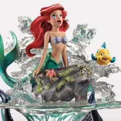 Escultura A Pequena Sereia e o mundo de Ariel Disney