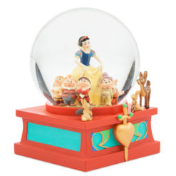 Globo de Neve Branca de Neve e os Sete Anões Oficial Disney