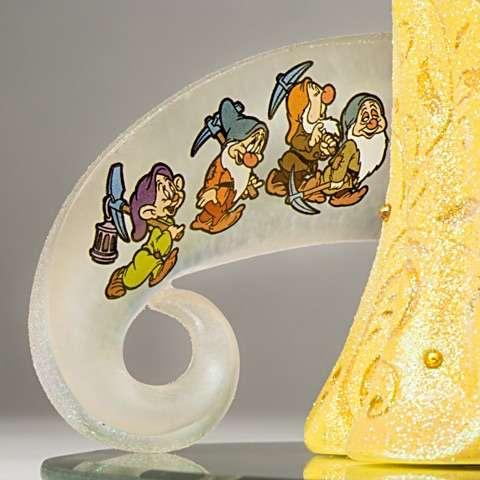 Escultura Disney Branca de Neve Aniversário 80 Anos