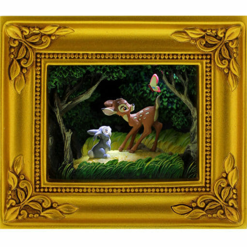 Bambi Woodland Wonder Gallery of Light by Olszewski 510x510 - Quadro Bambi Maravilha da Floresta Disney Gallery of Light