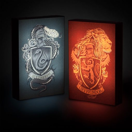 Banner Luminoso Casas de Hogwarts Harry Potter