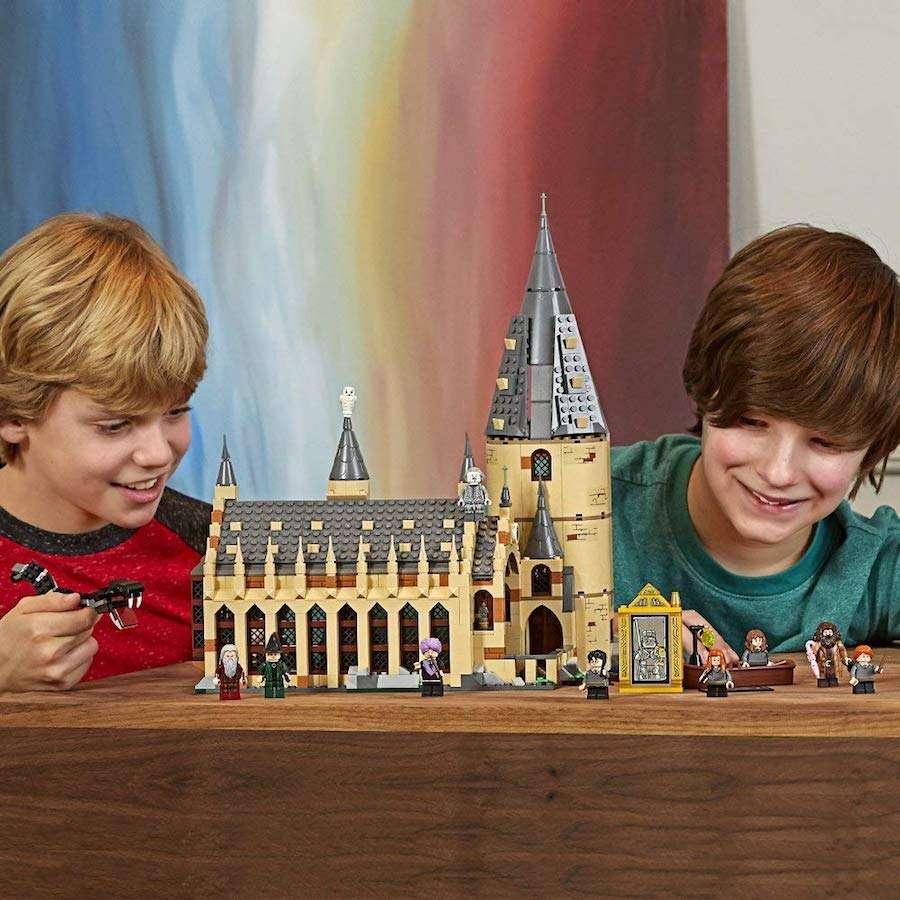 Banner lEGO - Lego Harry Potter Hogwarts Great Hall 75954