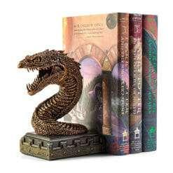 Basilisco Apoio para livros Noble Collection 1 247x247 - Apoio para Livros Serpente Basilisco Harry Potter