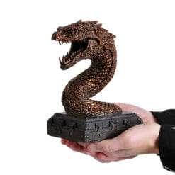 Basilisco Apoio para livros Noble Collection3 247x247 - Apoio para Livros Serpente Basilisco Harry Potter