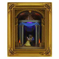 Quadro Valsa Bela e a Fera Disney Gallery of Light