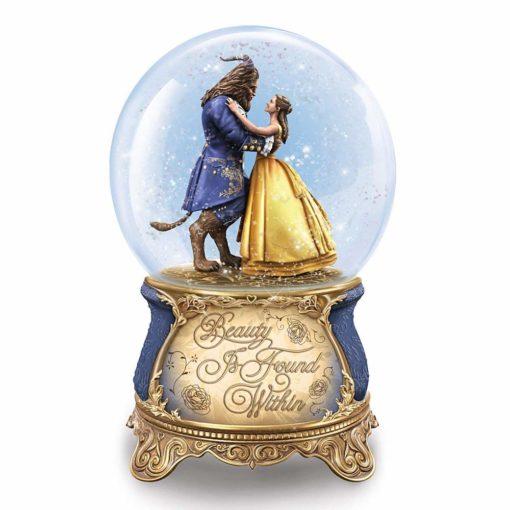 Globo de Neve Musical Disney Bela e a Fera Live Action