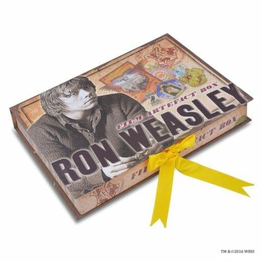CAIXA DE ARTEFATOS RON WEASLEY OFICIAL NOBLE COLLECTION2 510x510 - Caixa de Artefatos Ron Weasley Oficial
