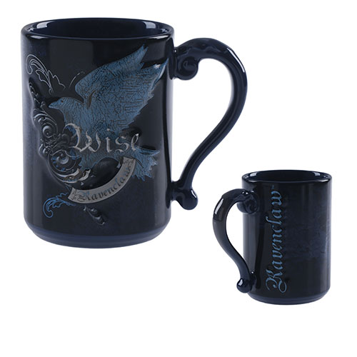 CANECA HARRY POTTER12 - Caneca Mascote Corvinal Harry Potter Oficial
