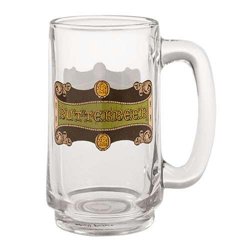 CANECA HARRY POTTER3 - Caneca em Vidro Cerveja Amanteigada Oficial Harry Potter