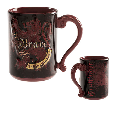 CANECA HARRY POTTER5 - Caneca Mascote Grifinória Harry Potter Oficial