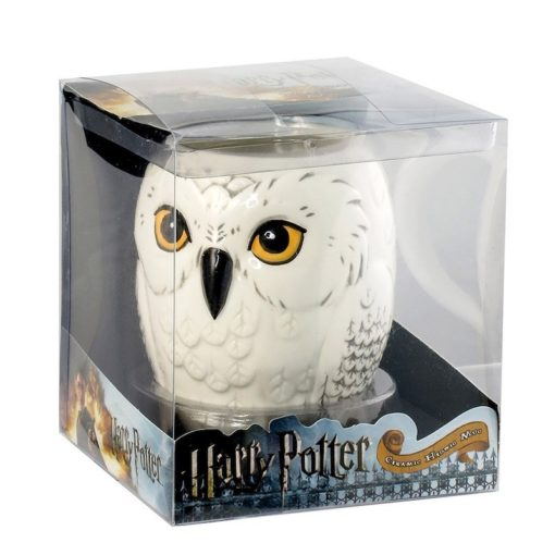 Caneca Coruja Edwiges Oficial Harry Potter