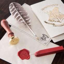 CARIMBO HOGWARST EDICAO ESPECIAL 5 247x247 - Kit Cartas Hogwarts com Caneta e Carimbo