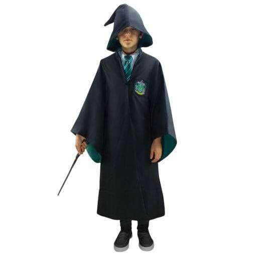 Capa Harry Potter oficial Sonserina 510x510 - Robe Oficial Sonserina Harry Potter Infantil