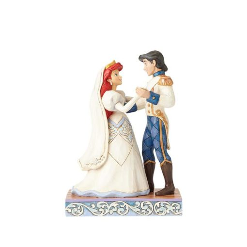 Casamento Ariel Disney Jim Shore 510x510 - Casamento Ariel & Príncipe Eric Disney Traditions Jim Shore