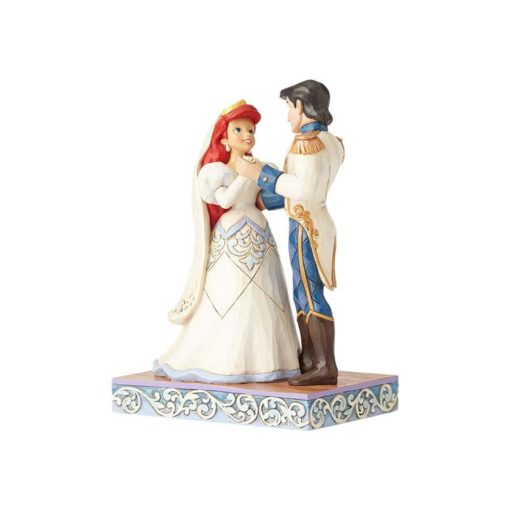 Casamento Ariel Disney Jim Shore3 510x510 - Casamento Ariel & Príncipe Eric Disney Traditions Jim Shore