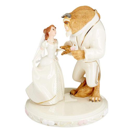 OrnamentoDisney Um Sonho de Casamento Bela & Fera