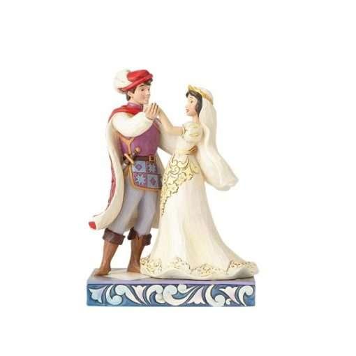 Casamento Branca de Neve Disney Jim Shore 510x510 - Casamento Branca de Neve & Príncipe Disney Traditions Jim Shore