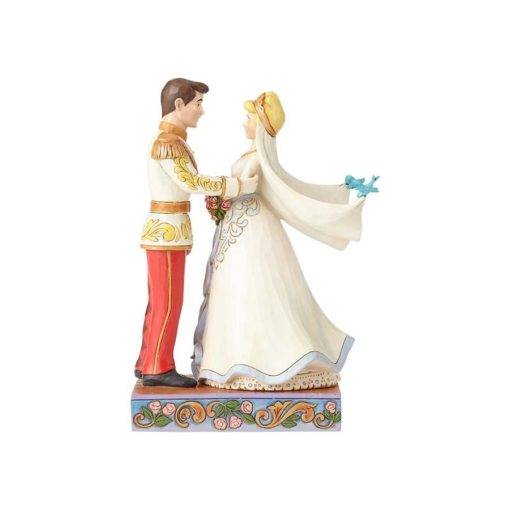Casamento Cinderela & Príncipe Disney Traditions Jim Shore