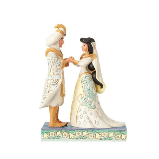 Casamento Jasmine & Aladin Disney Traditions Jim Shore