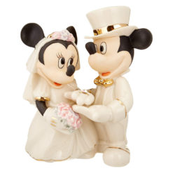 Casamento Mickey e Minnie Lenox mod 1 247x247 - Ornamento Sonho de Casamento Minnie Showcase Disney