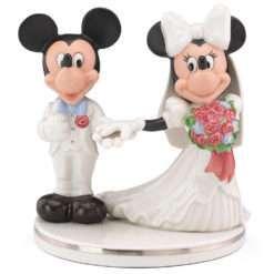 Casamento minnie de mickey topo do bolo disney 247x247 - OrnamentoDisneyMickey & Minnie Topo do Bolo de Casamento