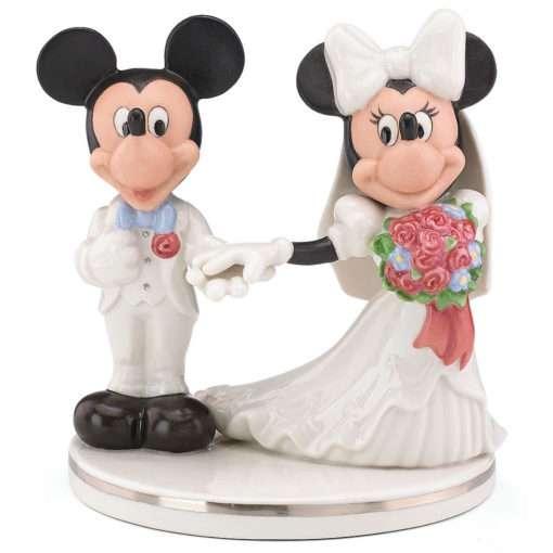 Casamento minnie de mickey topo do bolo disney 510x510 - OrnamentoDisneyMickey & Minnie Topo do Bolo de Casamento