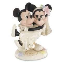 Ornamento Disney Mickey & Minnie Casamento na Praia