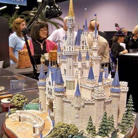 Castelo Capa - Review Castelo Cinderela Disney Versão Diorama