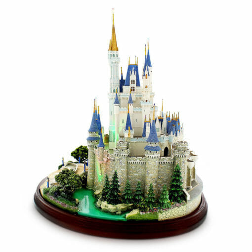 Castelo Cinderela Disney Miniatura Diorama 510x510 - Castelo da Cinderela Disney Diorama Réplica Oficial
