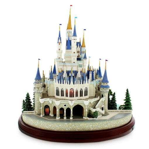 Castelo da Cinderela Disney Diorama Réplica Oficial
