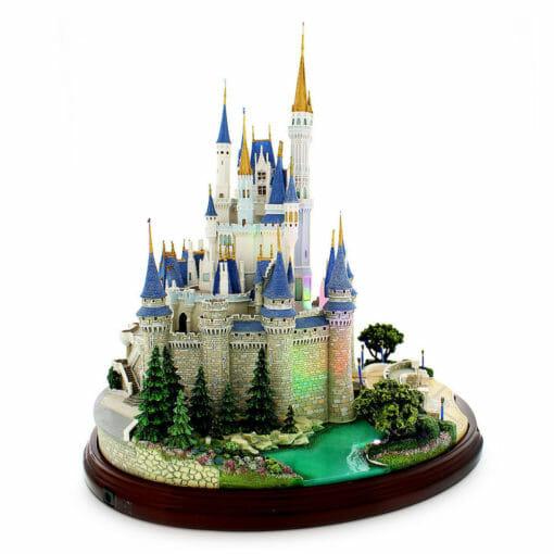 Castelo Cinderela Disney Miniatura Diorama3 510x510 - Castelo da Cinderela Disney Diorama Réplica Oficial