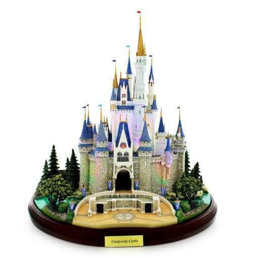 Castelo Cinderela Disney Miniatura Diorama4 510x510 - Castelo da Cinderela Disney Diorama Réplica Oficial