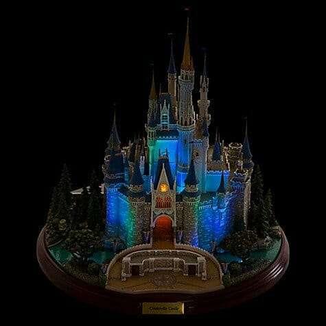 Castelo Cinderela Disney Miniatura Diorama4 - Castelo da Cinderela Disney Diorama Réplica Oficial
